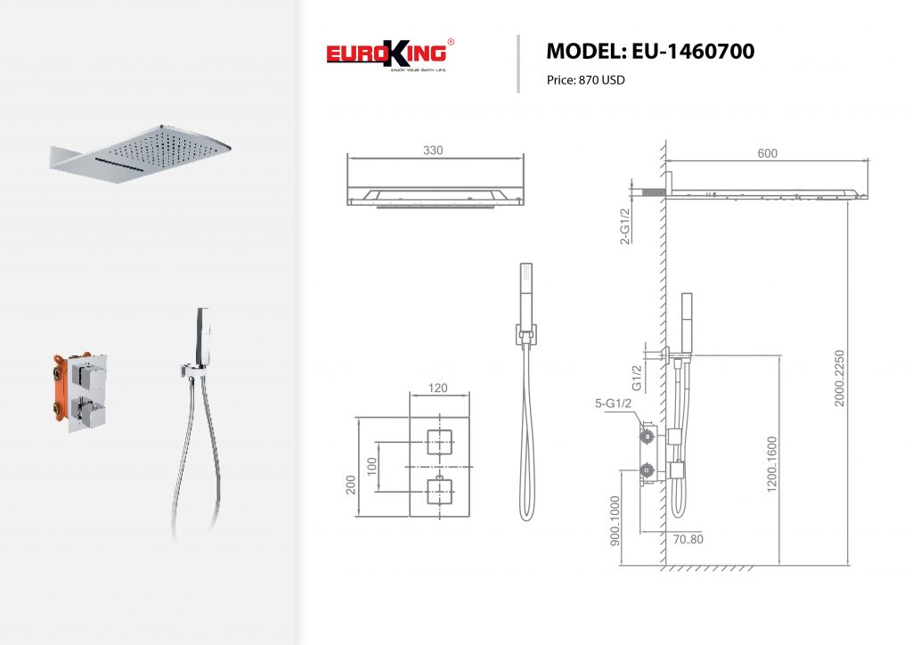 Bảng vẽ kỹ thuật EU-1460700
